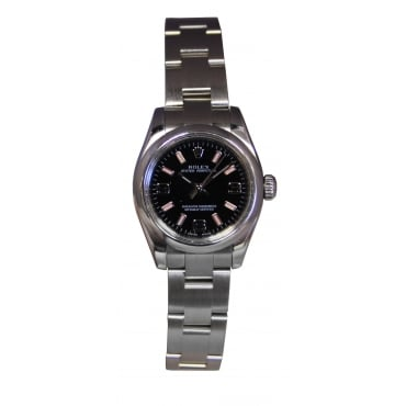 Ladies Stainless Steel Oyster Perpetual Watch