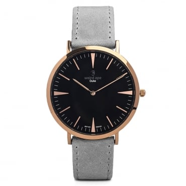 Duke Slate Grey & Rose Gold Watch WA02-005412