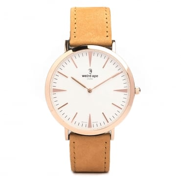 Duke White Rose Gold Watch WA02-005429