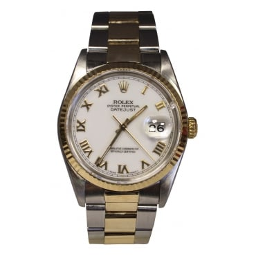 Men's Bi-Metal DateJust Watch. 16200