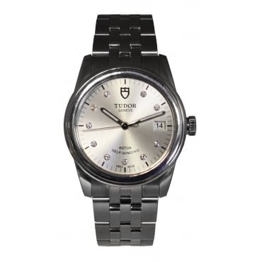 Stainless Steel Glamour Watch. 55000
