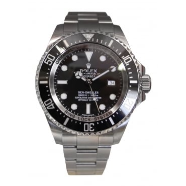 Men's Stainless Steel Deepsea Sea-Dweller Watch. 116660