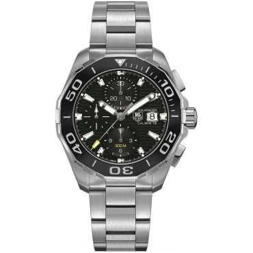Men's Stainless Steel Aquaracer Chronograph Watch CAY211A.BA0927