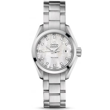 Ladies Seamaster Aqua Terra Quartz 30mm 231.10.30.60.55.001
