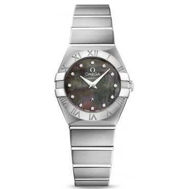 Ladies Steel Constellation Tahiti Quartz 24mm 123.10.24.60.57.003