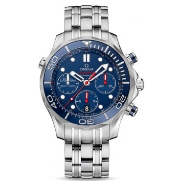 Mens Seamaster Chronograph Watch 212.30.42.50.03.001
