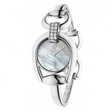 Ladies Horsebit Diamond Watch - YA139504