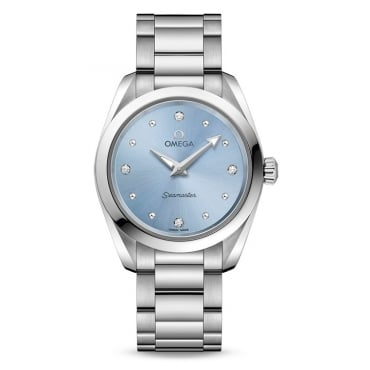 Ladies AQUA TERRA 150M QUARTZ 28 MM 220.10.28.60.53.001