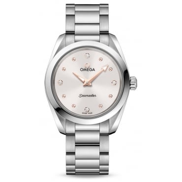 Ladies AQUA TERRA 150M QUARTZ 28 MM 220.10.28.60.54.001