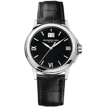 Men's Tradition Leather Strap Watch 5476-st-00207