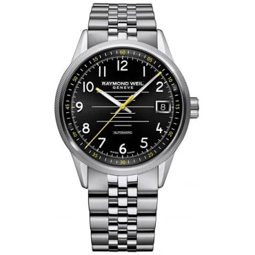 Mens Stainless Steel Freelancer Automatic Watch 2745-ST-05200