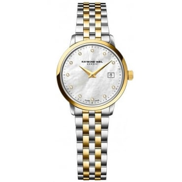 Toccata Ladies Two Tone Watch - 5988-STP-97081
