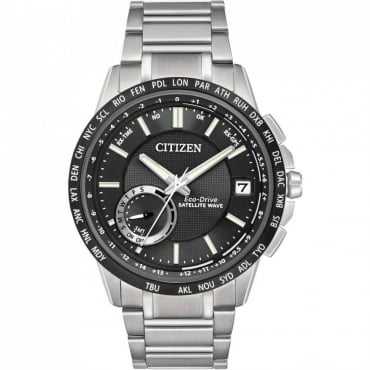 Mens Satellite Wave World Time GPS Watch - CC3005-85E