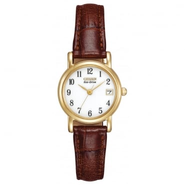 Ladies Eco-Drive Watch EW1272-01A