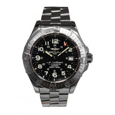 Men's Stainless Steel Superocean Watch.
