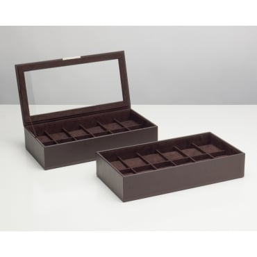Stackable Watch Box (Set of 2) - Brown 319706