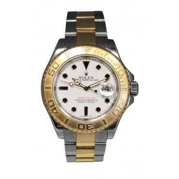 Men's Bi-Metal Yachtmaster Watch. 16623