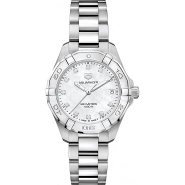 Ladies Stainless Steel Aquaracer Watch. WBD1314.BA0740