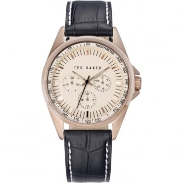 Ex-Display Men's Rose Gold Plated Watch. TE1115
