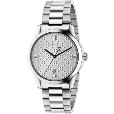 Unisex Stainless Steel G-Timeless Watch. YA1264024