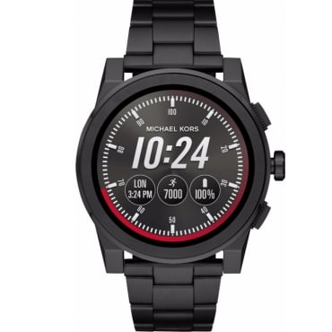 Access Grayson Black-Tone Smartwatch. MKT5029