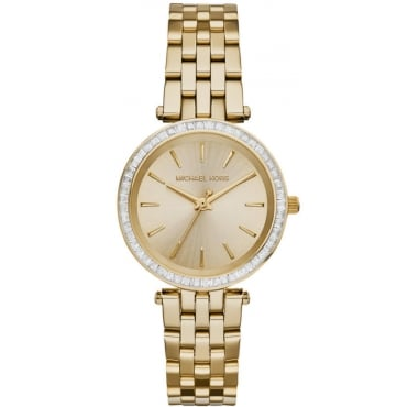 Mini Darci Yellow Gold Watch MK3365