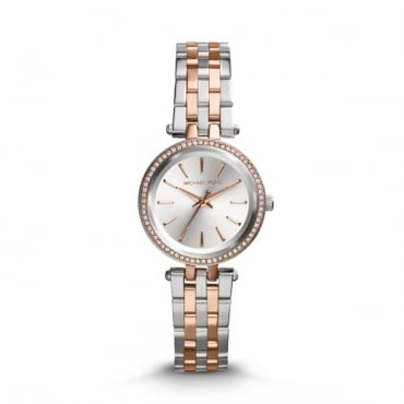 Ladies Petite Darci Two Tone Watch MK3298