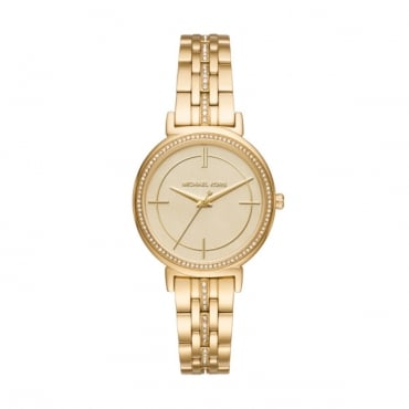 Ladies Gold Cinthia Watch MK3681