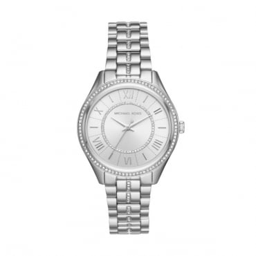 Ladies Steel Lauryn Watch MK3718