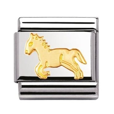 Classic Gold Horse Charm - 03011209