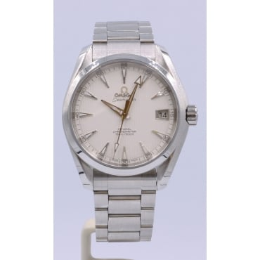 Men's Stainless Steel Co-Axial Aquaterra Watch