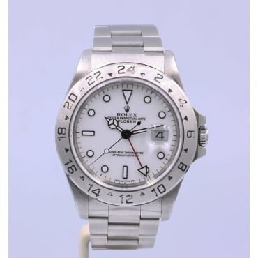 Mens Stainless Steel Explorer II 16570