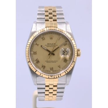 Men's Bi-Metal DateJust Watch. 16233