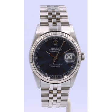 Men's Stainless Steel DateJust Watch
