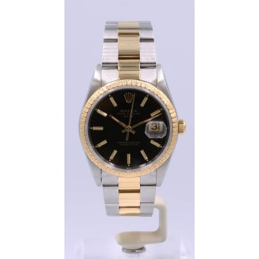 Men's Bi-Metal DateJust Watch. 15223