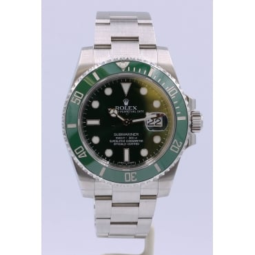 Men's Stainless Steel Submariner Watch. 116610LV
