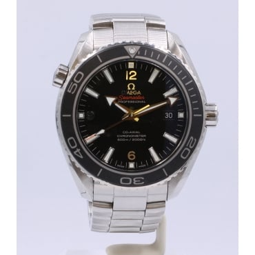 Men's Stainless Steel Planet Ocean Watch.