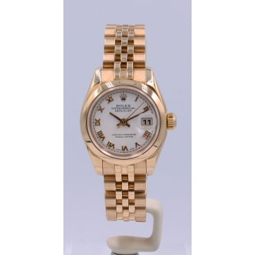 Ladies Everose Gold DateJust Watch. 179165
