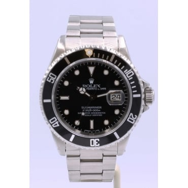 Men's Stainless Steel Submariner Watch 16610