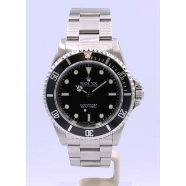 Men's Stainless Steel Submariner Watch