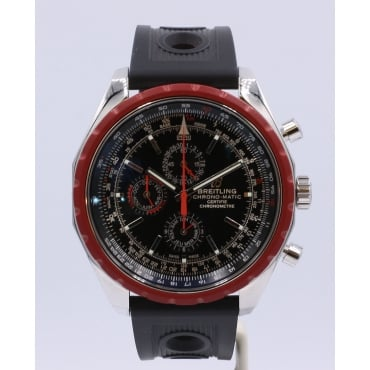 Men's Stainless Steel Chrono-Matic Watch