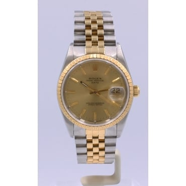 Men's Bi-Metal Date Watch. 15223
