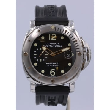 Men's Stainless Steel Luminor Watch