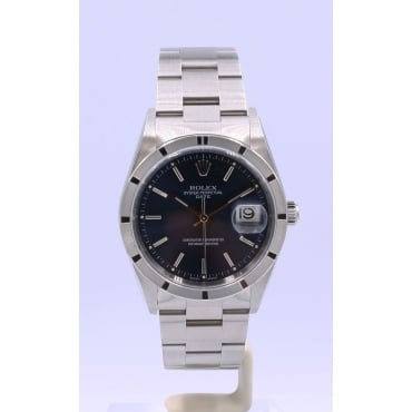 Men's Stainless Steel DateJust Watch. 15210