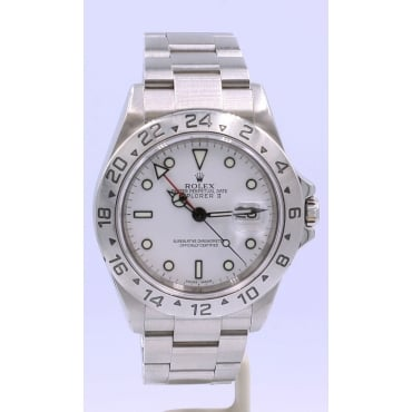 Men's Stainless Steel Explorer II Watch.