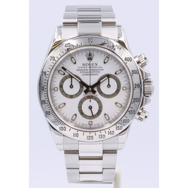 Men's Stainless Steel Daytona Watch. 116620