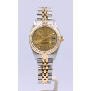 Ladies Bi-Metal DateJust Watch 69175