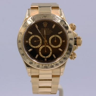 Men's 18ct Gold Cosmograph Daytona
