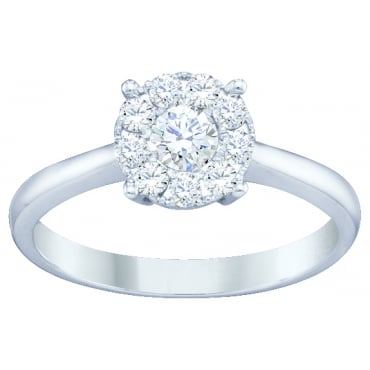 0.50ct White Gold Diamond Ring SKR2963