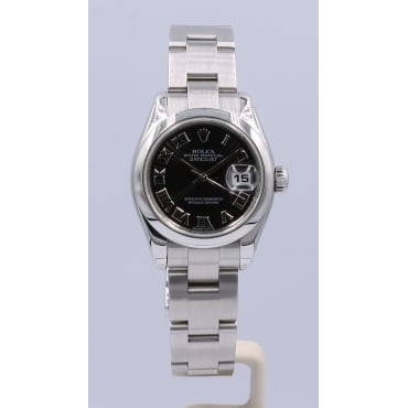 Ladies Stainless Steel DateJust. 179160